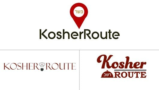 Kosher Route Logo Design