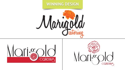 Marigold Catering Logo Design