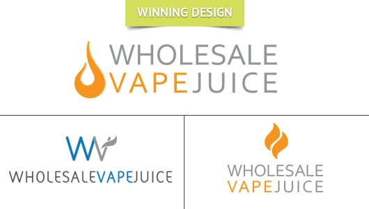 Wholesale Vape Juice Logo