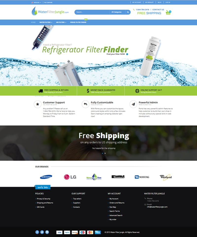 Water Filter Jungle Website