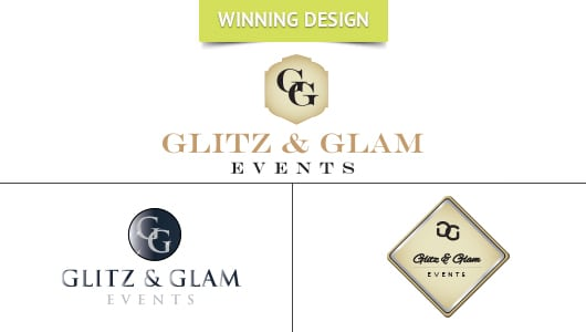 Glitz & Glam Events Logo