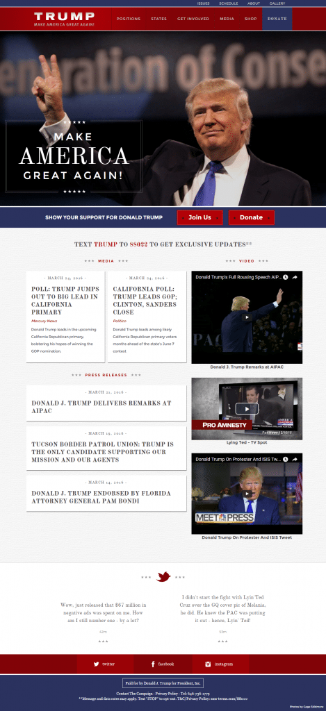 Make America Great Again Donald J Trump