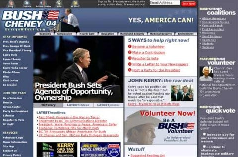 Screenshot/Bush Cheney
