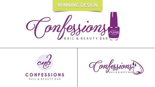Confessions Logo Design