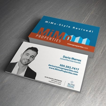 MiMo Properties Business Card Simplio Web Studio