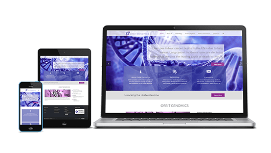 Orbit Genomics Website Design