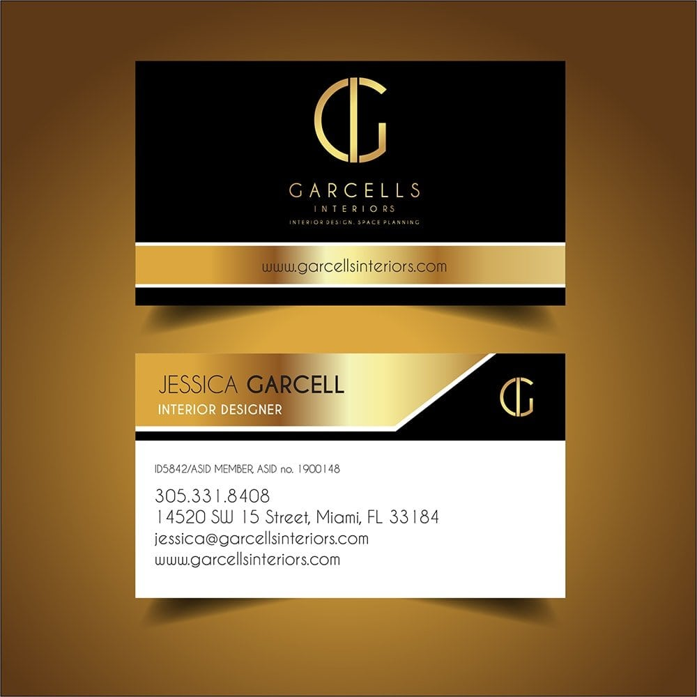 Business cards in hialeah fl gallery card design and card template garcells interiors business card simpliowebstudio garcells interiors business card reheart gallery reheart Gallery