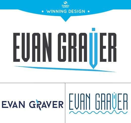 Evan Graver logo design