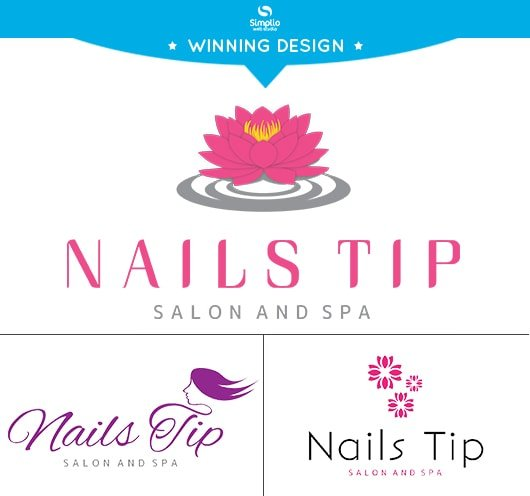 Nail Salon logo design