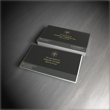 MJE Law New Business Cards Featured