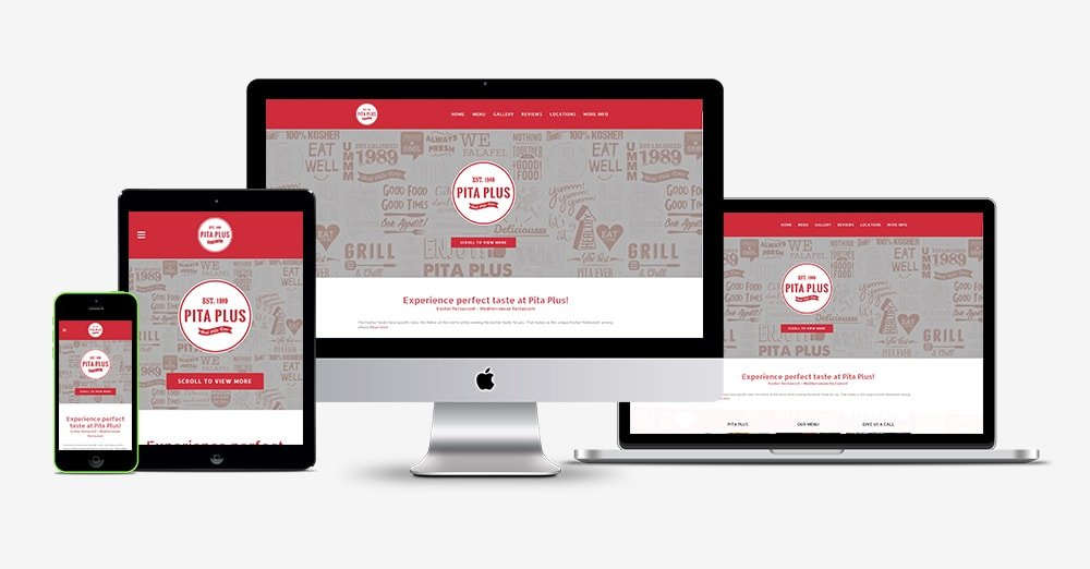 Pita Plus Website Design