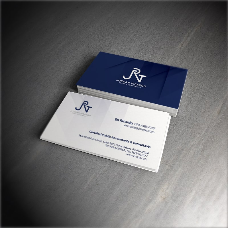 JRT Business Card Design