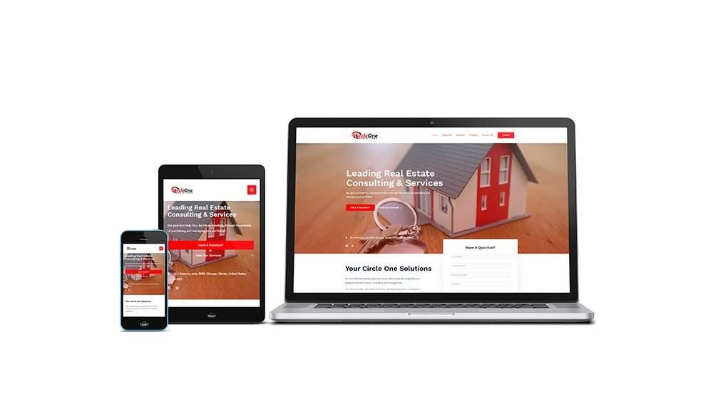 Circle One Solutions Website Design